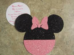 free printable minnie mouse baby shower invitations home design