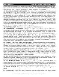 american audio mixer mx1400 dsp user manual page 2