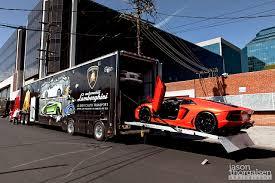 lamborghini truck jason thorgalsen photography lamborghini aventador delivery