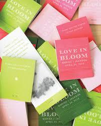 matchbook wedding favors seed matchbook favors how to martha stewart weddings