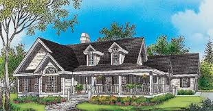 Cottage House Plans With Wrap Around Porch Cape Cod Cottage With Porches And A Breezeway To Detached Garage