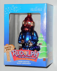 yukon cornelius crafted glass ornament rudolph the island