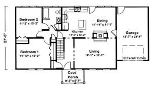 Floor Plans For Cape Cod Homes Brockway By Excel Modular Homes Cape Cod Floorplan