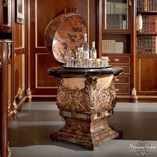 Office Bar Cabinet Classic Bar Cabinet Wooden White Bella Vita Counter Bar