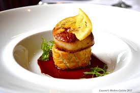 modern cuisine diver sea scallop picture of laurent s modern cuisine san