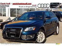 Audi Q5 Blue - 2010 audi q5 3 2 quattro in deep sea blue pearl effect 055063