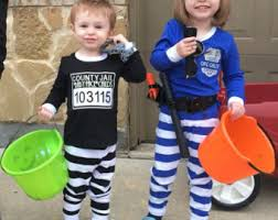 Boys Police Officer Halloween Costume Matching Costumes Etsy