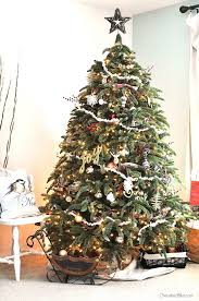 fashioned christmas tree fashioned rustic christmas tree cherished bliss