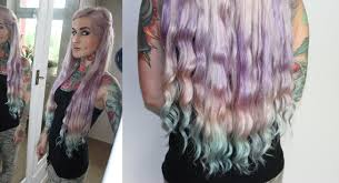 mermaid hair extensions vpfashion clip in extensions tressen review pastell mermaid ombre