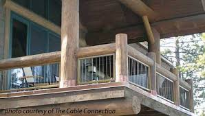 Cable Banister Stainless Steel Cable Railing Porch Railings Deck Railing Ideas