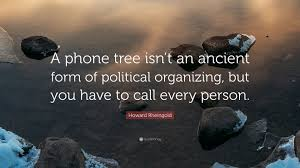 political organizing howard rheingold quote a phone tree isn t an ancient form of