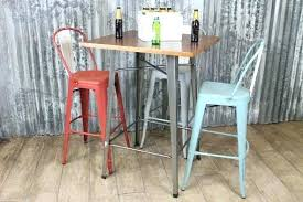 industrial style pub table industrial style bar table industrial style bar height table