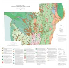 Maps Wisconsin by Wisconsin Geological U0026 Natural History Survey Preliminary