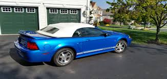 2000 blue mustang our 2000 ford mustang convertible by jeff w mustang 6 association