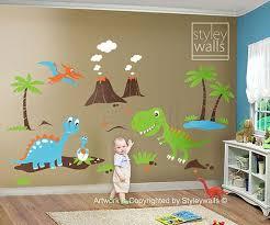 best 25 dinosaur wall decals ideas on pinterest dinosaur kids