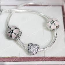 pandora sterling silver clip bracelet images Pandora cherry blossom clip charm jpg