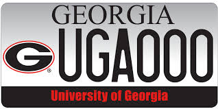 uga alumni car tag uga license plates car tags uga alumni association