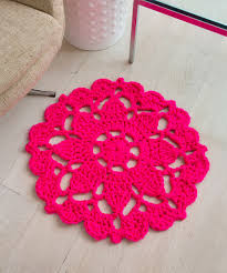 Crochet Bathroom Rug by Pretty In Pink Rug Crochet Pattern Red Heart Freebie Thanks So
