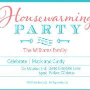 magnificent housewarming party invitations template free 8