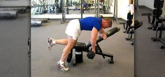 Incline Bench Dumbbell Rows How To Do A One Arm Dumbbell Row To Tone The Lat Muscles Body