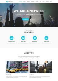 bootstrap themes free parallax 80 best one page wordpress themes free premium freshdesignweb