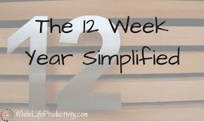 the 12 week year book the 12 week year simplified productivity productivity