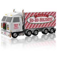 hallmark truck ornament ebay