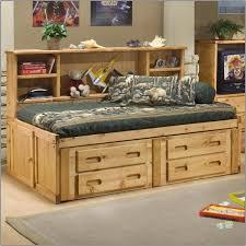 Queen Size Platform Bed Bedroom Full Size Platform Bed With Drawers Captain U0027s Bed