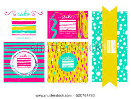 vector templates cafe candy shop sweet stock vector 520794793