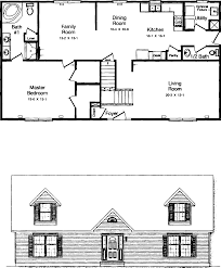 brilliant cape cod floor plans this style 2 bedroom 1 bath plan cape cod floor plans