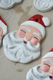santa salt dough ornaments archives a farmgirl s kitchen