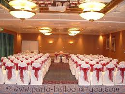 Wedding Chair Cover Wedding Balloons Fresh U0026 Silk Flowers Pew End Bows Chair Cover