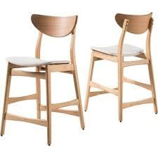 modern wood bar stools counter stools allmodern