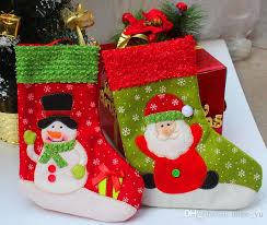 26cm santa claus sock ornament random supplies