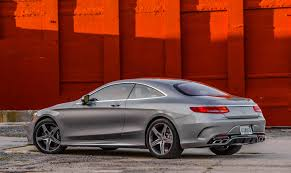 mercedes s63 amg coupe 2015 meet the 2015 mercedes s63 amg 4matic coupe