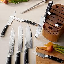 kitchen knives direct shun kaji 11 knife block set williams sonoma