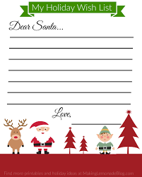 secret santa wish list template christmas ideas bunch ideas of