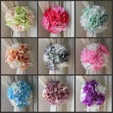artificial hydrangea flowers craft background gauze curtain clip