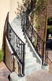 Wrought Iron Railings Interior Stairs Exterior Wrought Iron Railings Home Depot Handrails For Outdoor