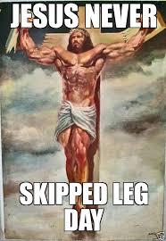 Muscle Memes - muscular jesus weknowmemes generator