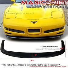 c5 corvette front spoiler 97 04 chevy corvette c5 cs style front bumper lip splitter