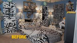 you ll never believe what this zebra themed bedroom looks like now you ll never believe what this zebra themed bedroom looks like now rachael ray show
