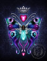 steam butterfly steunk butterfly print by brigidashwood