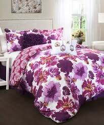 Teen Vogue Bedding Violet Comforter by Reinvigorate Your Space With The Vibrant Watercolor Print Of The