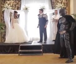 batman wedding dress an epic wedding ceremony with batman iron ninjas knights