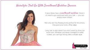 hair you wear choosing hairstyle based on your dress neckline