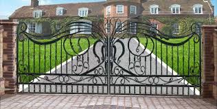 ornamental wrought iron gates ornamental iron entrance gates for