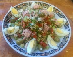 cuisine tunisienne cuisine tunisienne la salade tunisienne de tunis