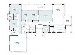 rectangular house plans modern 4 bedroom rectangular house plans beautiful gallery of rectangle