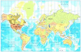 World Map Wallpaper Wall Mural Wallsauce Australia Also